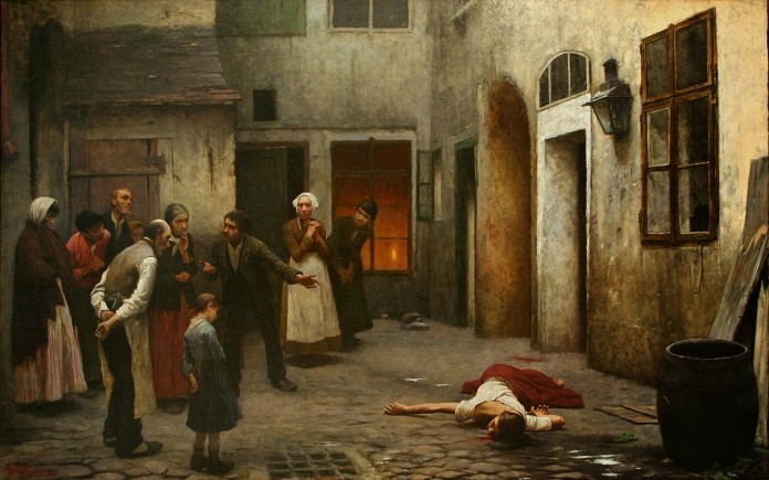 Jakub Schikaneder Murder in the House